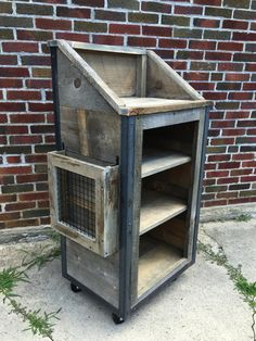 Hey, I found this really awesome Etsy listing at https://www.etsy.com/listing/277605490/rustic-industrial-reclaimed-weathered