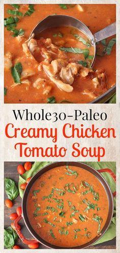 Paleo Creamy Chicken