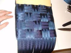 DIY seatbelt bag...maybe! :)