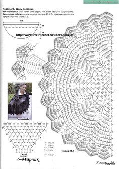 ideas crochet shawl pattern wedding lace for 2020 Poncho Au Crochet, Crochet Wrap Pattern, Crochet Cape, Crochet Shawls And Wraps, Crochet Diagram, Knitted Shawls, Crochet Scarves, Crochet Motif, Crochet Doilies