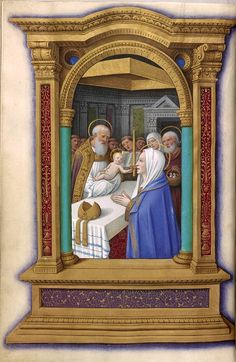 Christ: Presentation | Book of Hours | France, Tours |  ca. 1515 | The Morgan Library & Museum