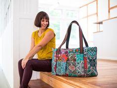 Reisetasche um auch auf Reisen den DIY-Charme zu versprühen