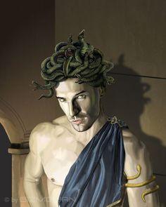 Gorgon man by Gizmorian.deviantart.com on @deviantART