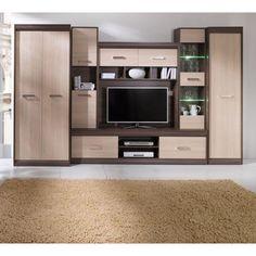 Tv Wall Furniture, Furniture Dressing Table, Living Room Tv Unit Designs, Bedroom Cupboard Designs, Living Room Interior, Home Interior Design, Wadrobe Design, Simple False Ceiling Design, Modern Tv Wall Units
