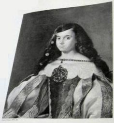 Portrait of a Young lady by Juan Carreno Miranda