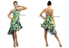 brand new fringes latin dance gowns,Mambo gowns store:SK-LD10