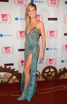 Gorgeous VERSACE DRESS , Heidi Klum