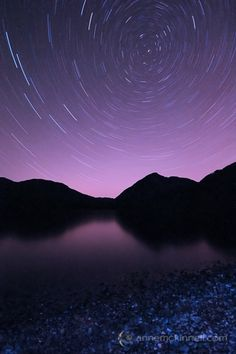 How to Photography Star Trails - DPS (Photo: Cowichan Lake Star Trails by Anne McKinnell.)