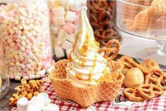 (圖:Milk ice cream 2014 Facebook) Milk Ice Cream, Foods To Eat, Food Lists, Cereal, Breakfast, Morning Coffee, Corn Flakes, Morning Breakfast, Breakfast Cereal