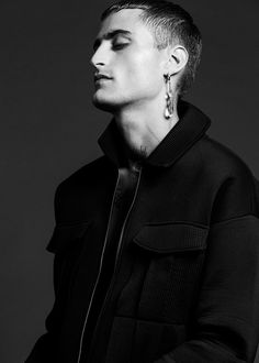Adrian Bernal photographed by Vicente Monedero and styled by Cesar Darío with pieces from Balenciaga, Rick Owens, Nike, Calvin Klein, American Apparel and more, in exclusive for Fucking Young! Online.  Grooming: Jorge Balzaretti Styling Assistants: Chiori Takamatsu & Lucia Noel
