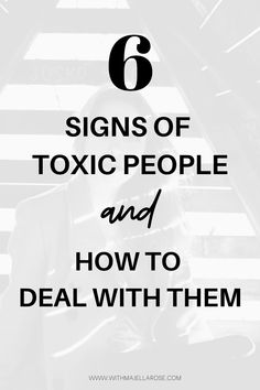 As you make your way through life, you will almost certainly come across some toxic people. Here are some sign sof toxic people and how to deal with them. Signs Of Toxic People, Purpose Quotes, Toxic Friends, Emotional Healing, Ex Wives, Coping Skills, Emotional Intelligence, Aesthetic Iphone Wallpaper, Best Self