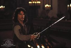 The Princess Bride :: Hello. My name is Inigo Montoya. You killed my father. Prepare to die.