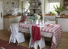 Love red in the kitchen