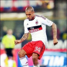 """Nigel de Jong (born 30 November 1984) is a Dutch professional footballer who plays as a midfielder for Italian Serie A club Milan and the Netherlands national football team.   A tireless grafter, he has garnered a reputation of being a combative and feisty player in his performances, a reputation that has earned him nicknames such as ''""""The Terrier""""'' and ''""""Lawnmower""""''. He moved to Italian side Milan in August 2012."""