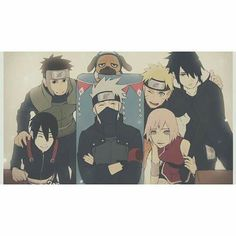 Team 7 Yamato/Tenzo, Sai, Kakashi sensei, Naruto, Sakura and Sasuke Sai Naruto, Naruto Kakashi, Naruto Chibi, Fotos Do Anime Naruto, Naruto Team 7, Naruto Fan Art, Naruto Cute, Naruto Shippuden Sasuke, Manga Anime