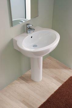 FLY LAVABO E COLONNA CHAMPAGNE #arredamento #bagno | Lavabi bagno ...
