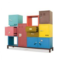 Stack Modular Storage System — Credenzas/Sideboards -- Better Living Through Design