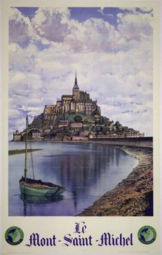 Le Mont-Saint-Michel / L. Pécheux ; Pierre Dubure. – Paris : Chemins de Fer de l'État, - (Affiches Gaillard, Paris-Amiens)., XXe siècle
