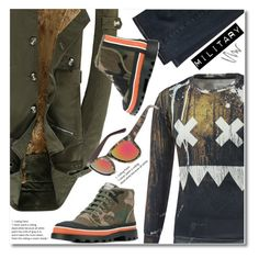 """Untitled #2445"" by svijetlana ❤ liked on Polyvore featuring Levi's, Valentino, NARS Cosmetics, men's fashion and menswear"