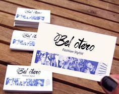 Business Cards Fashion Stylist Mode Style Phoyography