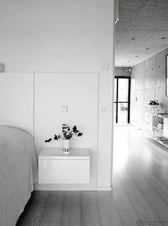 betonitalo-photo-krista-keltanen-11 Dream Bedroom, Modern Rustic, Deco, Interior And Exterior, Villa, Bathtub, Contemporary, House, Gallery