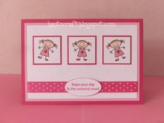 babybluegirl - All In The Family - Girl Birthday Card by babybluegirl - Cards and Paper Crafts at Splitcoaststampers