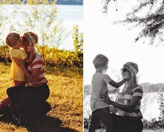 Mother and son photo ideas.