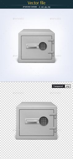 Metal Safe with Combination Lock