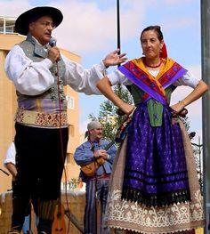 traje regional de Castilla-La Mancha