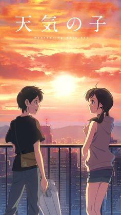 List of Latest Anime Wallpaper IPhone Your Name Anime Backgrounds Wallpapers, Animes Wallpapers, Totoro, Makoto Shinkai Movies, Your Name Anime, Tamako Love Story, Latest Anime, Kimi No Na Wa, Anime Angel