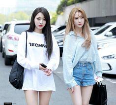 Nine Muses Kyungri & Hyemi