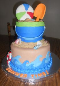 Cakes By Lori Kirk Beach Themed Cake