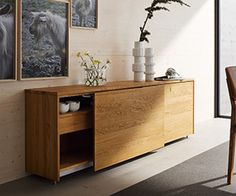 Contemporary sideboards - Team7 Cubus - Wharfside Furniture