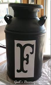 1000 images about repurposed milk cans on pinterest for Repurposed milk cans