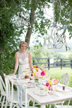 Sweeter than Honey - Pink and Yellow Styled Shoot - to see more: http://www.theperfectpalette.com - Styling by BRANDtabulous, Photography b...