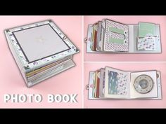 PHOTO BOOK II. (SCRAPBOOK IDEAS) - YouTube Large Scrapbook, Scrapbook Albums, Scrapbooking, Paper Craft Work, Paper Crafts, Mini Albums Scrap, Photo Book, Etsy Store, Baby Shower