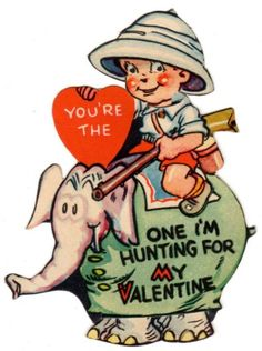 vintage valentine card - I'd like to do some kind of vintage Valentine's Day theme