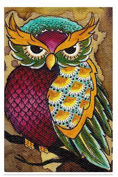 Owl Art Print #rebelcircus #rebel #circus #goth #gothic #punk #punkrock #rockabilly #psychobilly #pinup #inked #alternative #fashion  #clothing #clothes #style #retro #style #rock #grunge