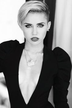Miley Cyrus... I'm not a fan of her music or her lifestyle choices, but she really is extremely gorgeous