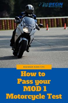 Sharing Tips To Help You Pass Your UK Module 1 Motorcycle Test First Time Round