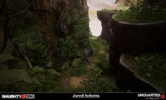 ArtStation - Uncharted 4: A Thiefs End - Port Town Mountain, Jared Sobotta