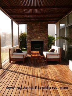 1000 images about terrazas on pinterest pergolas for Ideas para hacer un techo en el patio