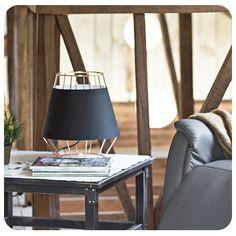 #Lighting #Iluminación #Lampara #Lamp #Ambiente #Espacio #Homy #Inspiración #inspiration #Ideas #Negro #Black #Cobre #Cooper #Tablelamp #Mesa #Table