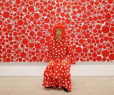 TATE MODERN London Kusama Exhibit, until June 5th! yayoi_12