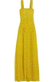 Diane von FurstenbergLillie printed silk-georgette gown