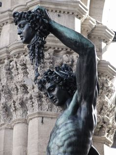 Perseus with the head of Medusa by Cellini