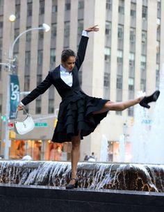 Dancers Among Us, Vogue Photoshoot, Misty Copeland, I Love Ny, Manhattan, That Look, Ballet Skirt, Fashion, Moda