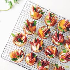 Yogurt Tarts with Fig, Mint, & Nectarine // Kale & Caramel. Find this #recipe and 20+ more yogurt recipes on our Yogurt Feed at https://feedfeed.info/yogurt?img=856796 #feedfeed