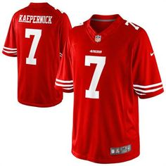 2373d346ef7 Colin Kaepernick San Francisco Nike Scarlet Limited Stitched Jersey - Men s  XL (X-Large)  Size Men s XL Stitched graphics Officially Licensed NFL Nike  ...