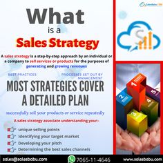 A sales strategy is a step-by-step approach by an individual or a company to sell services or products for the purposes of generating and growing revenues best practices processes set out by management Most strategies cover a detailed plan successfully sell your products or service repeatedly Sales Strategy, Best Practice, Sales And Marketing, Software, Management, How To Plan, Business, Cover, Things To Sell